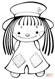 Small Picture Cute Girl coloring page Free Printable Coloring Pages