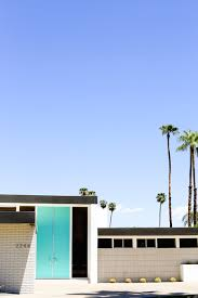 modern front doors. Take A Self-guided Palm Springs Door Tour To Check Out All The Bright Modern Front Doors
