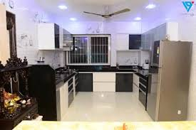 Gulmohor: Modern Kitchen By V9   The Interior Studio