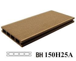 china wood grain wood plastic composite decking anti uv hollow waterproof outdoor wpc flooring 150x25a manufacturers and suppliers factory direct
