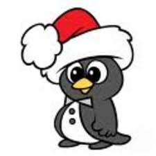 animated christmas penguins. Modren Penguins Download This Image As And Animated Christmas Penguins N