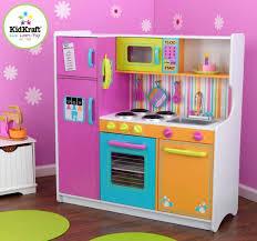 um image for kidkraft deluxe big n bright kitchen toy set food kids pretend play kid