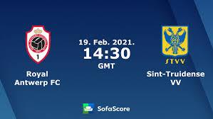 Royal Antwerp FC Sint-Truidense VV Live Ticker und Live Stream - SofaScore