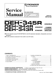 pioneer deh p2000 wiring diagram wiring diagram and schematic pioneer deh p330 p3300 p33 service manual