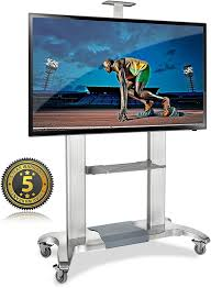 100 inch tv stand. Simple Inch North Bayou TV Cart Stand With Mount For 60u0027u0027  100 Inch Flat And Inch Tv S