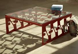 metal furniture design. rectangular metal coffee table furniture design of scrap by bevara house r