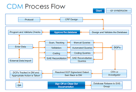 Clinical Data Management Flow Chart 50 Unfolded What Is Clinical Data Management