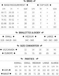 Bra Size And Cup Size Chart Size Chart Sokoloff Lingerie
