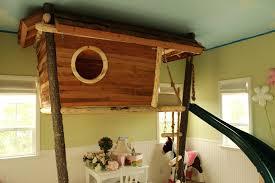 treehouse furniture ideas. Baby Nursery: Delightful Loft Bed Slide Kids Furniture Ideas Amazing Treehouse Bunk Having Lot Of