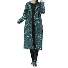2019 fashion women plus size winter coat cotton padded printing good quality easy long loose jacket n04 from ceciliasa 40 61 dhgate com