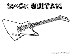 Small Picture Electric Guitar template rock star classroom Pinterest