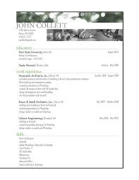 Architectural Resume Examples Examples Of Resumes