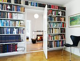 Wall Also Bookshelves Divider