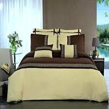 greek key design comforter modern gold brown duvet cover set down pattern