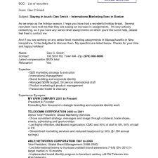 Good Resume Email Therpgmovie