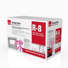 owens corning garage door fibergl insulation kit 22 in x 54 in 8 panels gd01 the