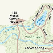 maps george washington carver national monument u s national  maps george washington carver national monument u s national park service