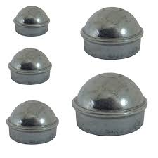 Chain link fence post sizes Install Aleko Gate Part 18 Round Post Caps Of Variable Sizes For Chain Link Post The Home Depot Round Gate Post Caps For Chain Link Post Part 18 Variable Sizes