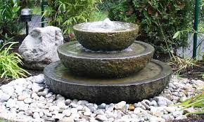 Small Picture small stone garden fountains Landscaping Gardening Ideas