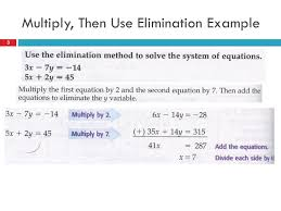 3 multiply then use elimination example 3