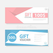 gift certificate for business pink blue gift voucher template pattern cute gift voucher