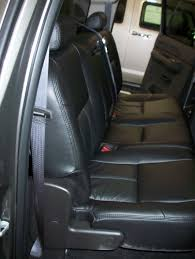 repair original leather seats after photo black leather installed silverado 2008