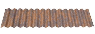 iron rust 7 8 corrugated