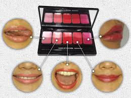 mufe rouge artist lip palette cool pink
