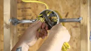Light Fixture Outlet How To Run An Outlet From A Lighting Fixture Box Diy Electrical Work