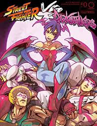 street fighter vs darkstalkers comic read street fighter vs