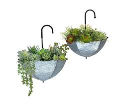 stands 6 9 inch wall planter hook plant