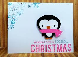 Action Wobble Penguin | cardsbymo