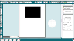 Cricut Design Studio Update Firmware How To Trace An Object With A White Edge In Silhouette