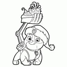 Rocky Patrol Kleurplaat Paw Patrol Cat Rocky Coloring Page Free