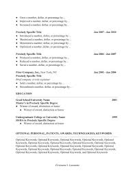 Bistrun Resume Qualifications From Professional Resume Format