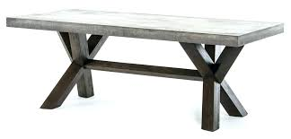concrete top dining table small concrete dining table concrete top dining table industrial tables with regard