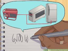 how to install a transfer switch pictures wikihow image titled install a transfer switch step 2