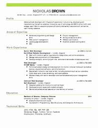 High School Resume Template For College Application Unique Formats