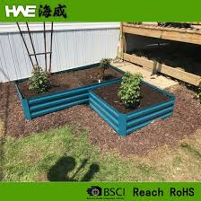 corrugated metal planters boxes herb