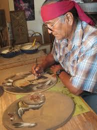 eugene joe synonymous with navajo sand art painting indian navajo sand painting artists