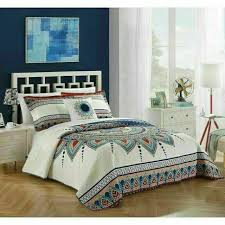 king quilt set bedding bohemian boho