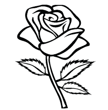 coloring page rose rose color pages printable coloring pages of roses and hearts printable coloring picture