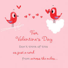 Long Distance Hug Valentines Day Card Cardstore