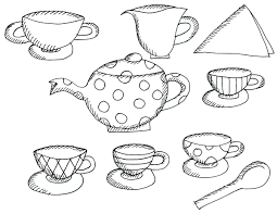Small Picture Cool Teapot Coloring Page Free Download 30967 With glumme