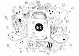 This is everything i ever wanted! Kawaii Free Printable Coloring Pages For Kids