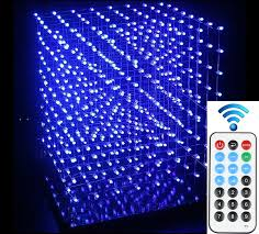 diy lighting effects. DIY Light Cube With Animation Effects 8x8x8 3D LED Kits Display Holidays Guide Plate-in Modules From Lights \u0026 Lighting On Aliexpress.com Diy E