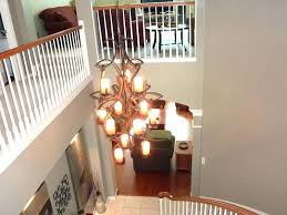 cosy chandelier size for two story foyer chandelier height 2 story foyer dining room best choice