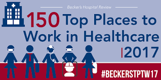 150 Top Places to Work in Healthcare | 2017