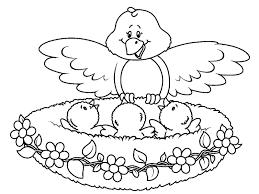 Disegni Per Bambini Da Colorare Gli Animali Mamma E Casalinga