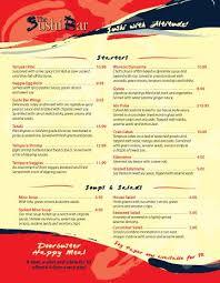 Restaurant Menus Layout Restaurant Menu Layouts By Danya Anderson Via Behance